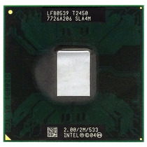 Lf80539-t2450 Processador Intel Core Duo Socket Ppga478 Note