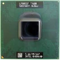 Processador Intel Celeron T1600 1.66 Ghz, 667 Socket 478
