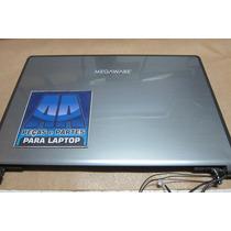 Tampa+moldura+flat+dobradiças Do Notebook Megaware Kripton K