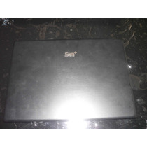 Tampa Da Tela Original Notebook Sim+ 2040m Usada C/ Defeito