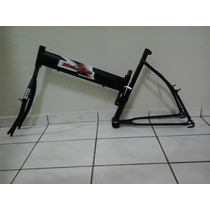 Quadro De Bicicleta Tipo Maria Mole Cor Preto Fosco