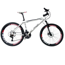 Bicicleta Mazza Bikes Fire Shimano 24 Marchas Freio Disco