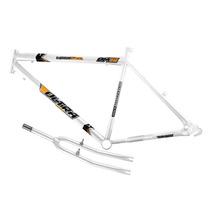 Quadro Em Aço Ultra Bike Aro 26 Com Garfo - Branco