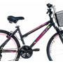 Quadro Bicicleta Alumínio Feminino Mônaco Aro 26 Tamanho 15