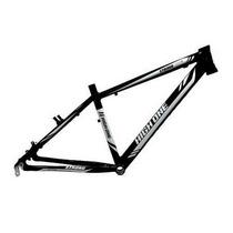 Quadro Bicicleta Mtb High One Strong Preto Branco Tam 20