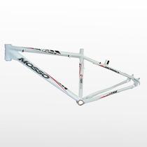 Quadro Bicicleta Mosso Challenger Branca Tamanho 26x16