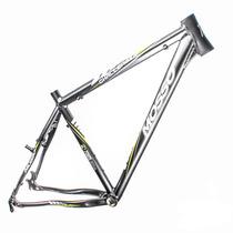 Quadro Bicicleta Mosso Challenger Cinza Tamanho 26x16
