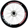 Par Rodas Completa Bicicleta Aros Viper 26 Freio A Disco