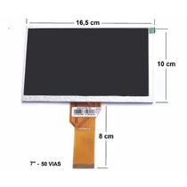 Tela Display Tablet Cce Motion T735 T737 Tr71 Original Novo