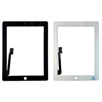 Tela Vidro Touch Ipad 3 Apple Branco Preto Original