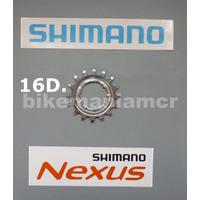 Pinhão 16 Dentes Para Cubos Shimano Nexus 3v-5v-7v-8v