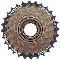 Catraca Roda Livre 7v Mtb Rosca Shimano Bicicleta Bike 21v