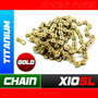 Corrente Kmc X10 Sl X10sl Titanium Chain Gold 10s