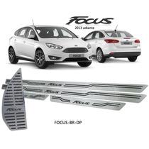 Soleiras Personalizadas Com Descanso Aço Inox Focus 2013