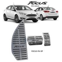 Kit Pedaleiras Com Descanso Em Inox Focus 2013 Automático