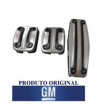 Jogo Capa Pedaleiras Esportivas Gm Onix/prisma/sonic/cobalt