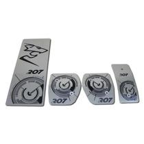 Pedaleiras Personalizadas Metal Aço Inox Todas As Marcas