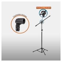Pedestal Microfone Vector Pmv 100 P