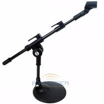 Pedestal Suporte De Mesa Vector Para Microfone Sm20p