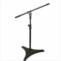 Pedestal Microfone Minigirafa Torelli Hpm55 Pés De Ferro