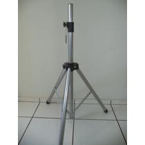 Pedestal Para Caixa De Som Suporte - Tripé Pedestal Prata