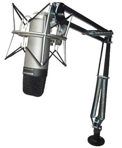 Pedestal Articulado (suporte Para Microfone) De Mesa