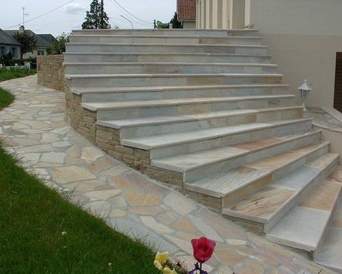 escada externa para jardim:Pedra De Caco Mineiro Direto Da Pedreira – R$ 12,99 no MercadoLivre