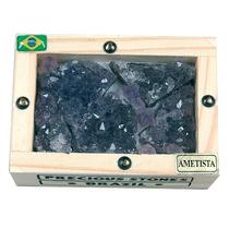Pedras Brasileiras - Caixa Mini Com Ametista