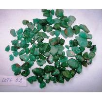 Esmeraldas Brutas 989 Cts Lote N. 02