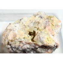 Fluorita E Mimetita Da França Pedra Bruta De Coleção N245