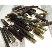 Lindo Lote De Turmalina Verde Claro - Prosperity Minerais