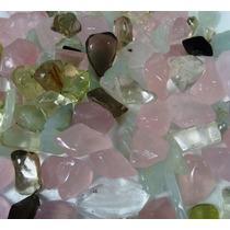Pedras Preciosas Diversas Polidas Excelente Qualidade - 1 Kg