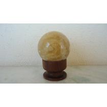 Bola Mineral Pedra Polida
