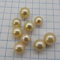 6,0mm Perola Legitima Agua Salgada P/ Anel De Ouro 3333 W