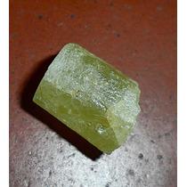 Heliodoro Mineral Bruto De Coleção Berilo Amarelo