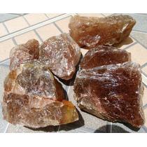 Lote Com 100 Gramas Quartzo Rutilado Vermelho Natural Bruto