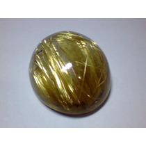 Cristal Rutilado; Gema Oval 18,5x16mm 18 Cts *mnbras*