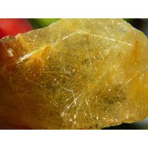 Cristal Rutilado Dourado