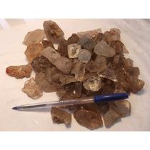 Pedras Preciosas,cristal Branco Rutilado, Bruto L.49