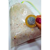 Cascalho De Pedras Para Artesanato - Quartzo Rosa- Meio Kilo