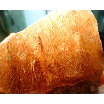Lote Com 1 Kilo Quartzo Rutilado Natural Bruto