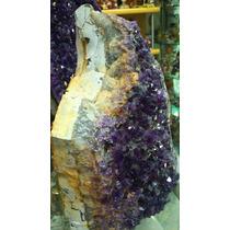 Pedra Drusa De Ametista Natural/ 2,6 Kg/ Frete Grátis! Am68