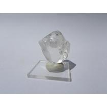 Quartzo Biterminado Super Transparente Mineral De Coleção