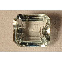 Rsp 1231 Linda Áqua Marinha Azul Claro Octogonal 1,7 Ct