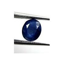 Elegante Safira Azul Oval 2,15 Cts. Pedra Natural.