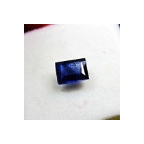 Elegante Safira Azul 2,90 Cts. Pedra Natural.