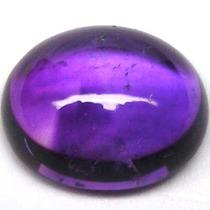 Ametista Com 4.25cts Oval Cabochon Cor Púrpura/ Pink