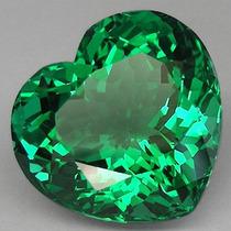 Coração Ametista Verde 16.5 X 17.5 X 11.5mm. 17.65cts