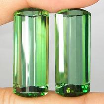 Lindas Ametistas Verde Corte De Pipas 44.80 Cts.