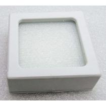 50 Caixas 4,5cm C/ Visor Vidro P/jóias E Pedras Frete Grátis